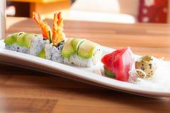 Maki και sashimi Στοκ Φωτογραφίες