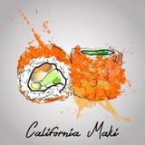 maki Καλιφόρνιας Στοκ Φωτογραφία