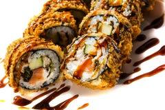 Maki della tempura Fotografia Stock
