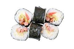 Maki do shiro de Rolls Imagens de Stock