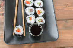 Maki-maki sushi Royalty Free Stock Photos