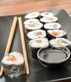 Maki-maki sushi Royalty Free Stock Images