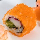 Maki, pedazo del sushi Fotos de archivo