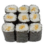 Maki rolls Royalty Free Stock Images