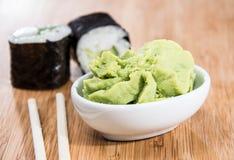 Maki rolls with Wasabi Stock Photography