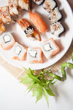 Maki set closeup Royalty Free Stock Image