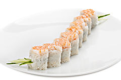 Maki Sush,  on white background. Stock Photos