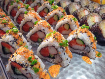 Maki Sushi Royaltyfria Foton
