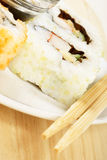 Maki sushi close-up Stock Photo