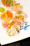 Maki sushi close-up Royalty Free Stock Photography