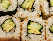 Maki Sushi macro Stock Photography