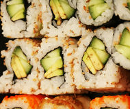 Maki Sushi macro Stock Image