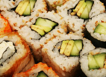 Maki Sushi macro Royalty Free Stock Photo