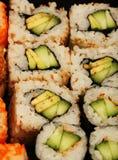 Maki Sushi makro Royaltyfri Foto