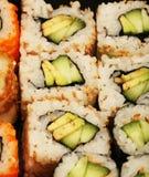 Maki Sushi makro Arkivfoton