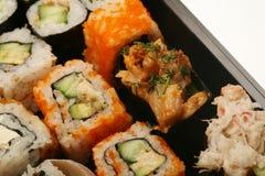 Maki Sushi makro Royaltyfri Fotografi