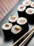 Maki sushi with raw tuna Royalty Free Stock Photo