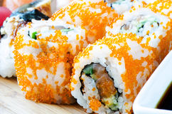 Maki Sushi - Roll close up Royalty Free Stock Image