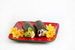 Maki Sushi-Rolle lizenzfreie stockfotos