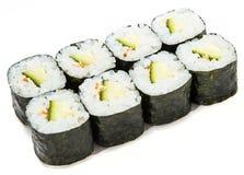 Maki Sushi Rolls Lizenzfreies Stockbild