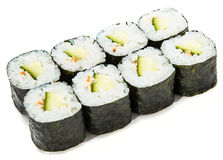 Maki sushi rolls Royalty Free Stock Image