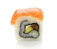 Maki sushi with salmon Stock Image