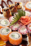 Maki Sushi Set Stock Images