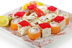 Maki Sushi Set Royalty Free Stock Photography