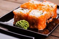 Maki Sushi set Royalty Free Stock Image