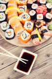 Maki Sushi set Royalty Free Stock Photography