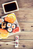 Maki Sushi set Royalty Free Stock Images