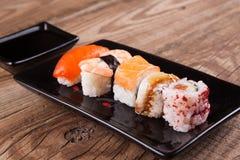 Maki Sushi set Stock Image