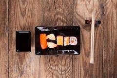 Maki Sushi set Stock Photography