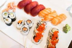 Maki sushi variety Stock Photo