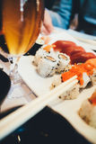 Maki sushi variety royalty free stock images