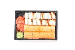 Maki sushi with wasabi Stock Photos