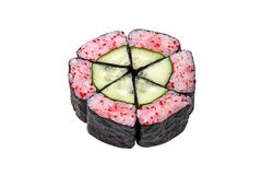 Maki Sushi-withTobiko stockbilder