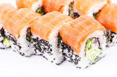Maki van Osaka. Sushi. Stock Afbeeldingen