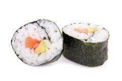 Makibroodje van sushi Stock Fotografie