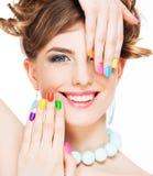 makijaż do kobiet obraz royalty free