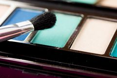 Makijażu muśnięcie Zdjęcie Stock