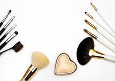 Makijaż wszystkie makeup Fotografia Royalty Free