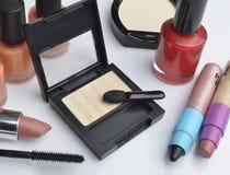 Makijaży kosmetyki Zdjęcia Royalty Free