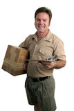 Making A Delivery Royalty Free Stock Photos