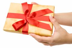 Making A Present Stock Images