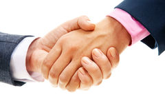 Making an agreement Royalty Free Stock Photo