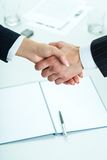 Making agreement Stock Photos