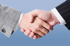 Making an agreement Royalty Free Stock Image
