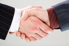 Making an agreement Royalty Free Stock Photos