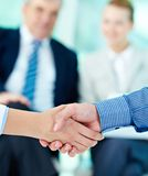 Making agreement Stock Images